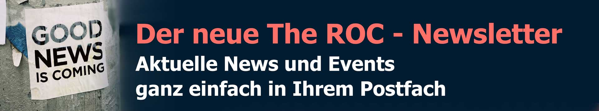 der neue the Roc Newsletter